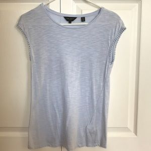 Ted Baker Ladies Baby Blue Tee Size 0